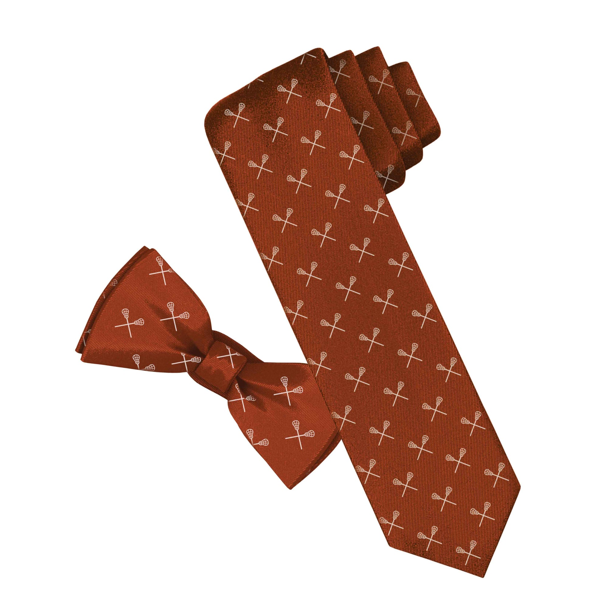 Lacrosse Tie and Bowtie