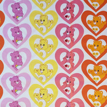 Load image into Gallery viewer, I heart Care Bear Reference Cotton Fabric