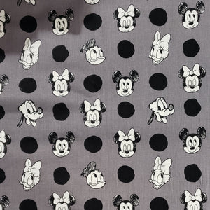 Mickey and Friends Polkadotted Fabric Face / Dust Mask