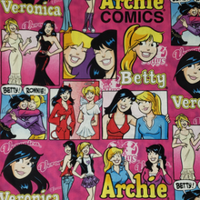 Load image into Gallery viewer, Archie Comics Betty and Veronica Fabric