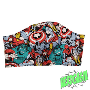 The Avengers - Fabric Face / Dust Mask