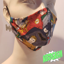 Load image into Gallery viewer, Justice League - Fabric Face / Dust Mask