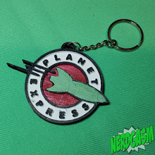 Load image into Gallery viewer, Planet Express Keychain