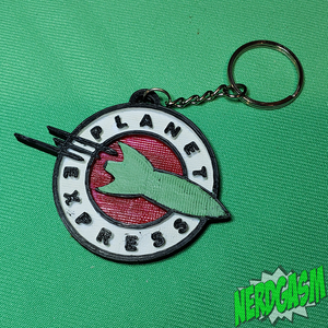 Planet Express Keychain