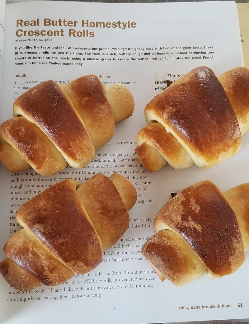Real Butter Homestyle Crescent Rolls