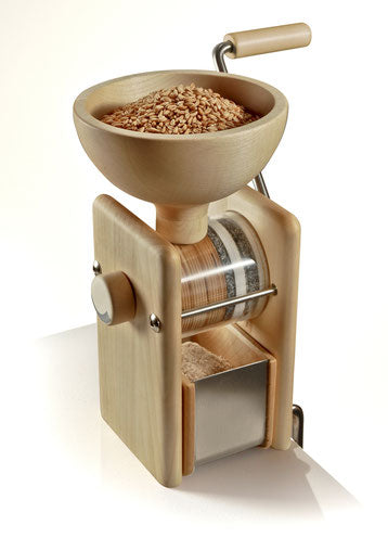 Manual Hand Mill OUT OF STOCK and optional Motor attachment