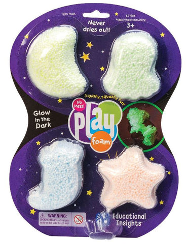 Playfoam Glow-in-the-Dark 4-Pack