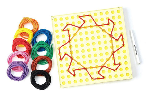 String Along Lacing Kit and Pattern Cards
