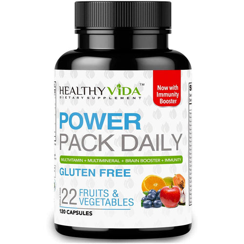 Healthy VIDA™ Power Pack Daily Vitamin | Mineral | Nootropic | Greens