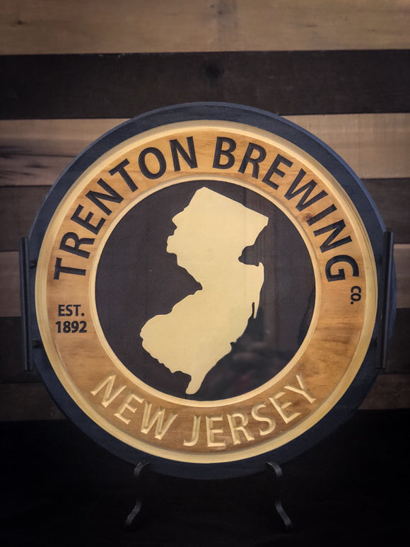 Trenton Brewing Serving Tray