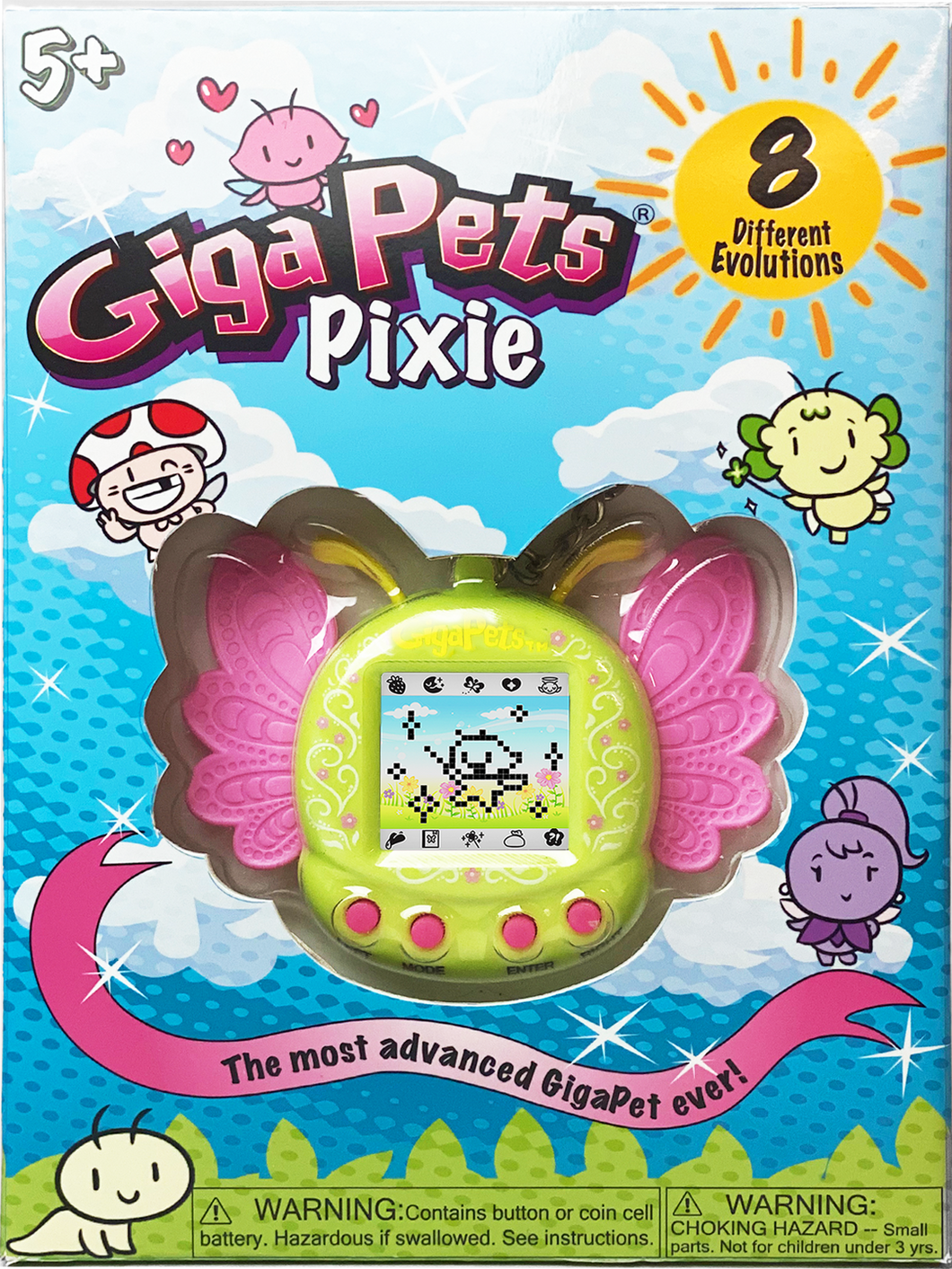 GigaPets Pixie Green: Collectors Box Edition
