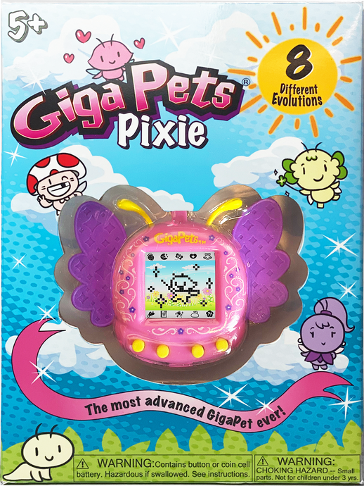 GigaPets Pixie Pink: Collectors Box Edition