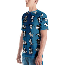 Load image into Gallery viewer, Puppie All Over Men's T-shirt