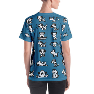 Puppies All-Over Women's T-shirt