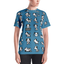 Load image into Gallery viewer, Puppies All-Over Women's T-shirt