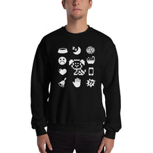 Load image into Gallery viewer, White Icons Sweatshirt