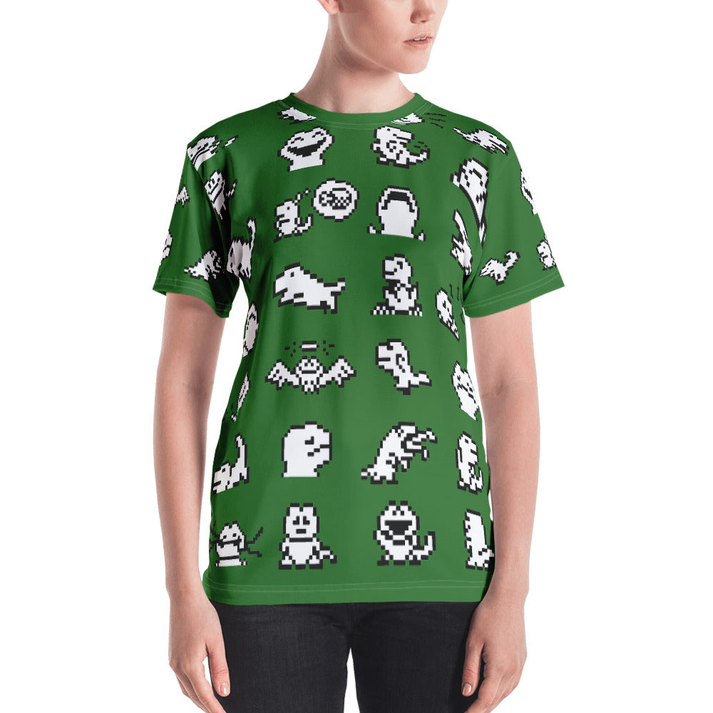 Dinos All-Over Women's T-shirt