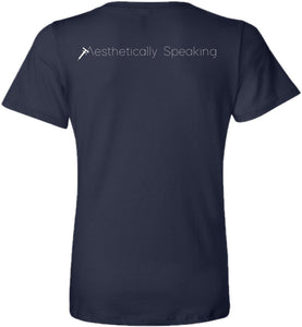 Navy Blue Aesthetically Speaking Keep Calm and Trust Your Esthetician