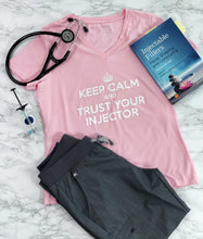 Load image into Gallery viewer, Keep Calm and Trust Your Injector T Shirt