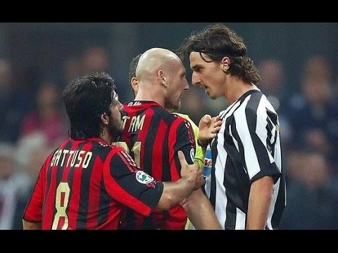 Stam vs Ibrahimovic