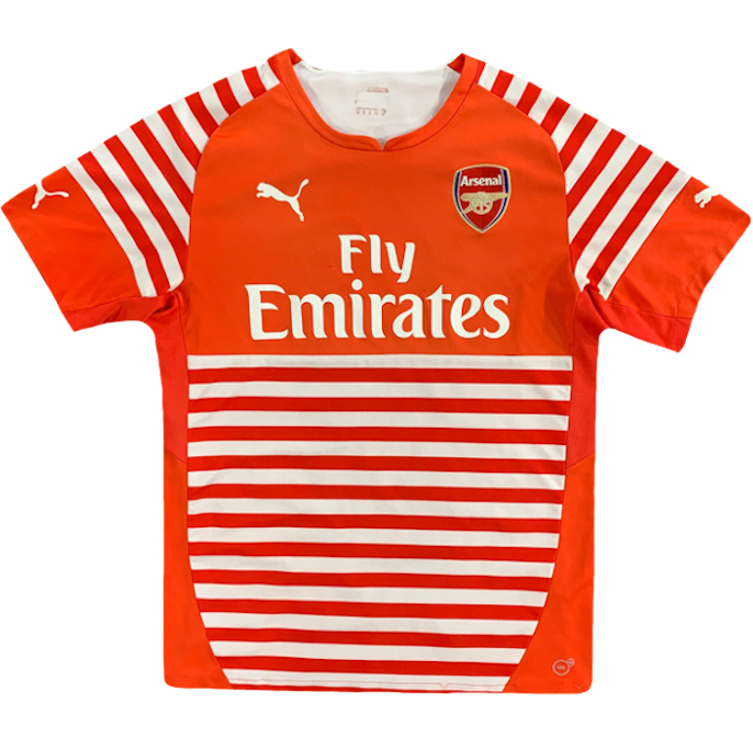 maillot arsenal saison 2014-2015 fly emirates puma
