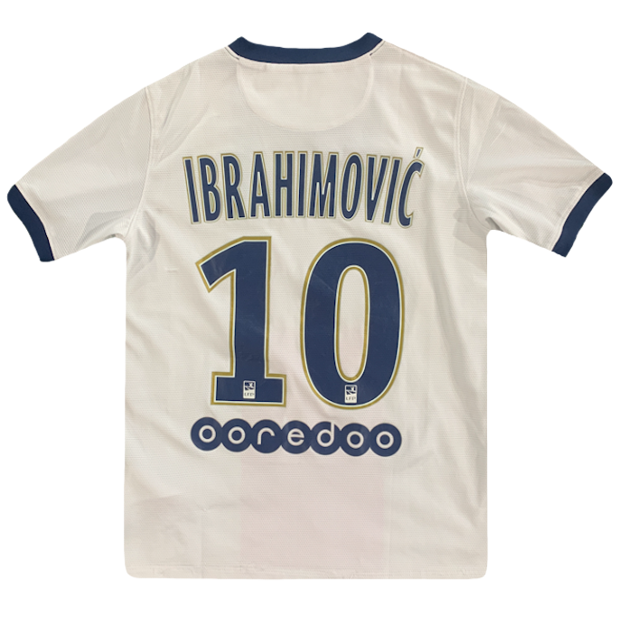 maillot ibrahimovic paris saint germain vintage saison 2013-2014 fly emirates nike