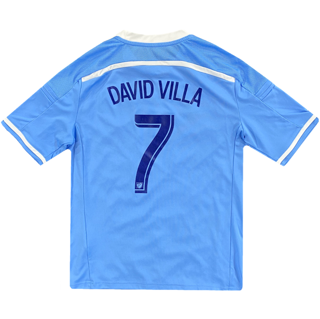 maillot david villa vintage new york saison 2015
