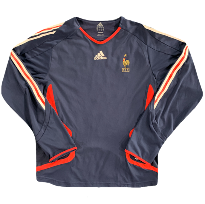 maillot equipe de france manches longues 2006 adidas
