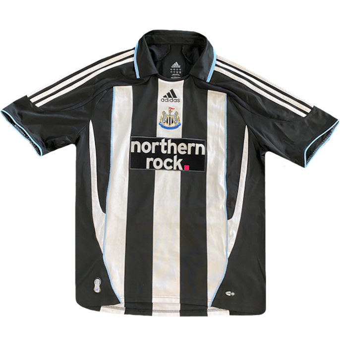 maillot newcastle vintage northern rock adidas saison 2007-2009