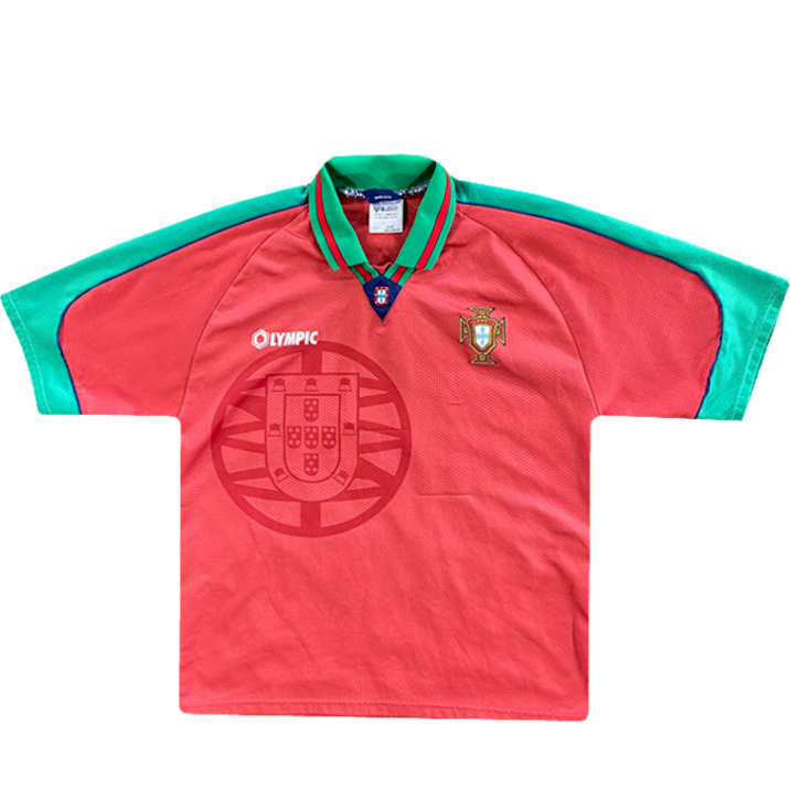 maillot portugal vintage saison 1996-1997 olympic