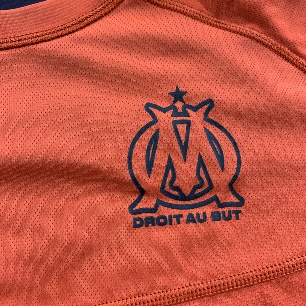 écusson maillot OM orange saison 2012-2013