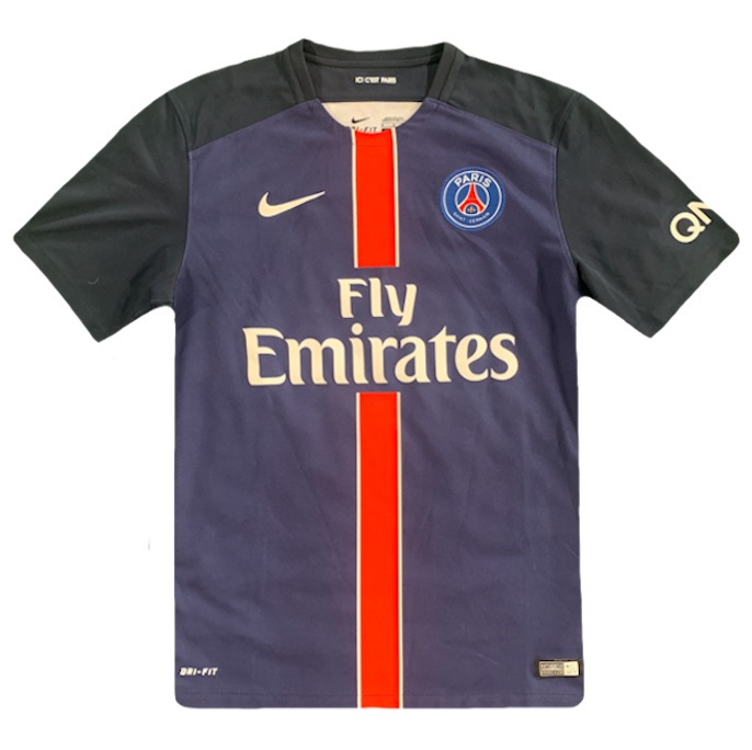 maillot paris saint germain vintage saison 2015-2016 fly emirates nike