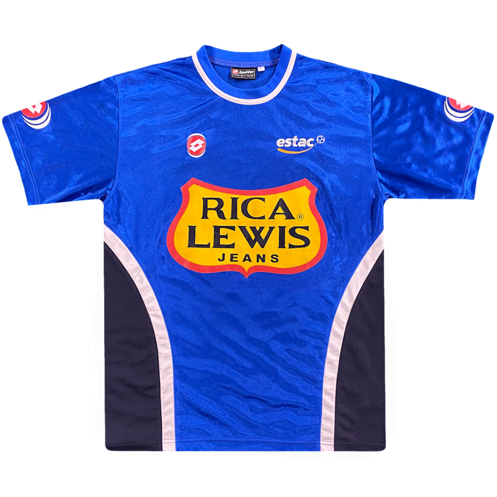 maillot troyes vintage saison 2002-2003 rica lewis