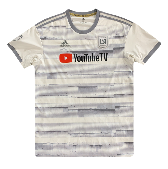 maillot los angeles vintage saison 2018-2019 youtube adidas