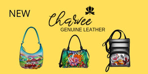 Charvee Hand Painted Leather Hand Bags