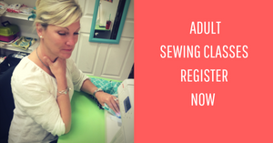 Adult Sewing Classes