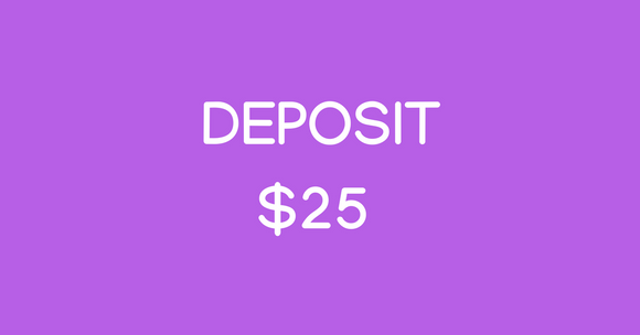 Deposit for Classes & Events