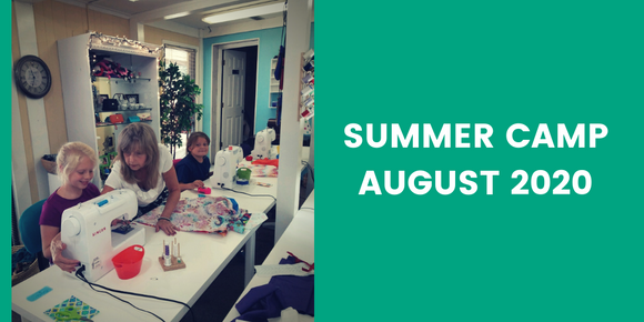 SUMMER CAMP SESSIONS - AUGUST 2020