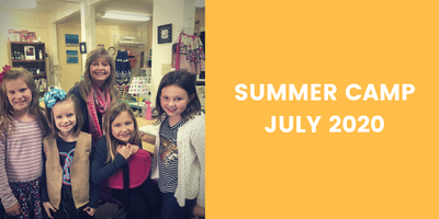 SUMMER CAMP SESSIONS - JULY 2020