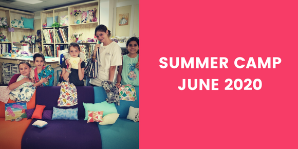 SUMMER CAMP SESSIONS - JUNE 2020