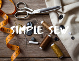 Simple Sew Series -Wednesday's AM & PM