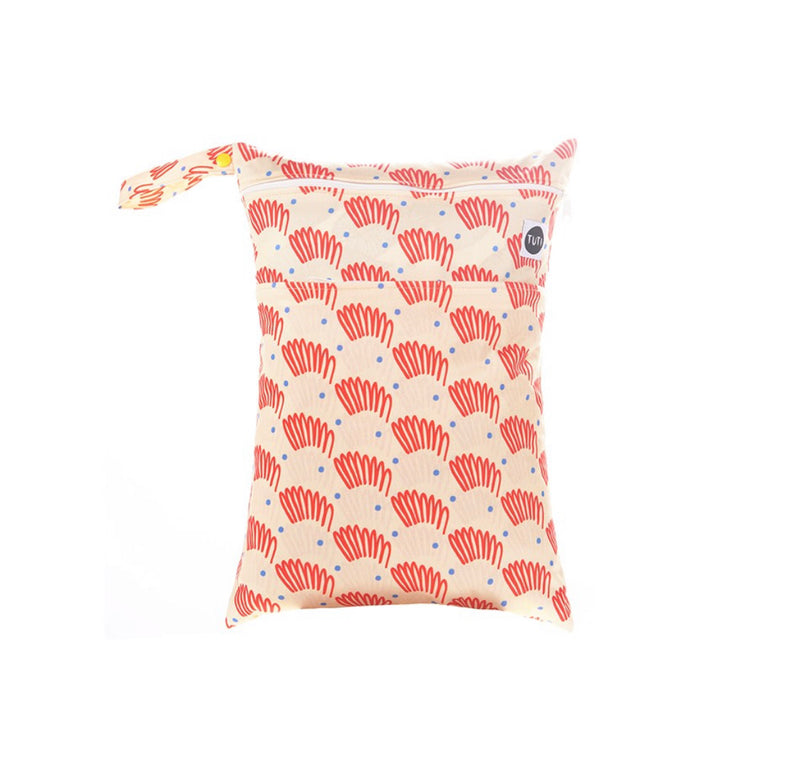 APRICOT DAZE WET BAG (Double pocket | medium size)