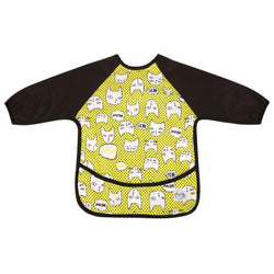 Crazy Cats Sleeved Bib