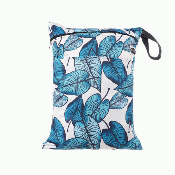 ELECTRIC DREAM MEDIUM DOUBLE POCKET WET BAG