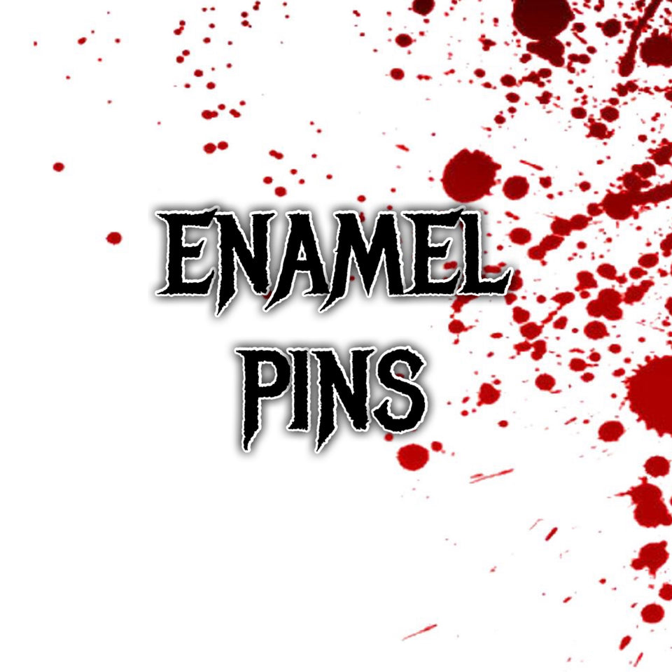 Enamel Pins, Patches, Decals