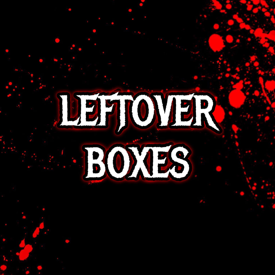 LEFTOVER BOXES