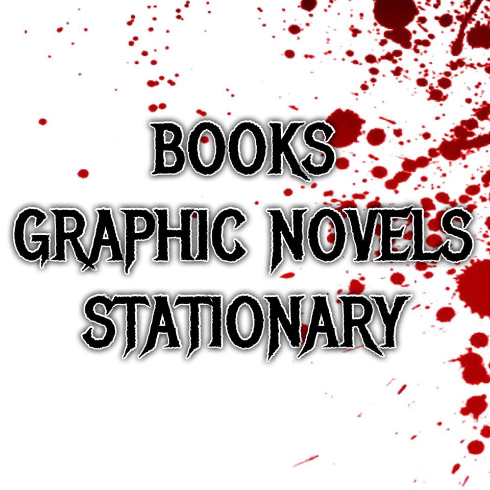 BOOKS, GRAPHIC NOVELS, & STATIONARY