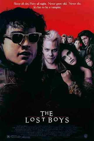 """LOST BOYS"" MOVIE POSTER **FREE SHIPPING (US)"