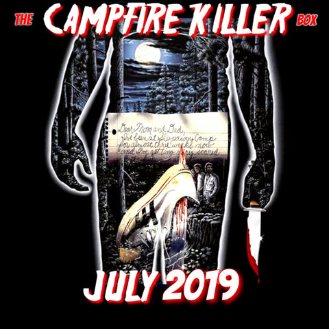 The CAMPFIRE KILLER Box **PRE ORDER** CRYPT SIZE (US only)