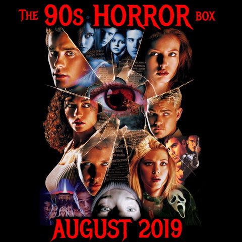 The 90s HORROR Box **PRE ORDER** CRYPT SIZE (US only)